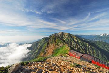 盛夏の北アルプス「唐松岳」