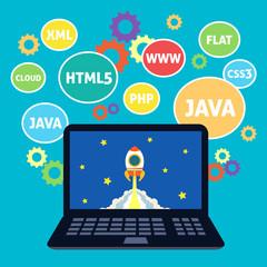 Web design coding