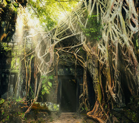 Temple in Angkor Thom