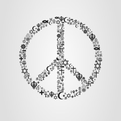 Religions Peace Shape