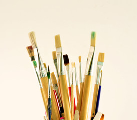 Brushes for drawing.