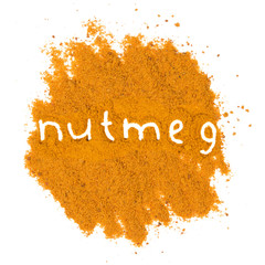 Nutmeg heap