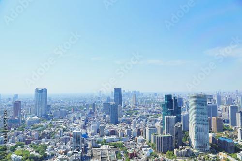 Poster 東京タワーからの眺め