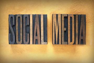 Social Media Letterpress