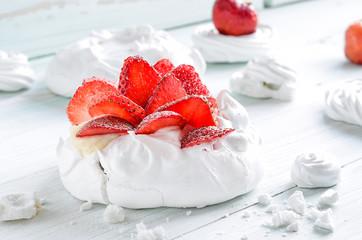 Dessert Pavlova