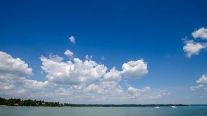 Zeitraffer - Wolken am Starnberger See