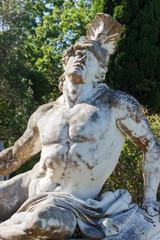 Achilles statue from Achilleion palace at Corfu
