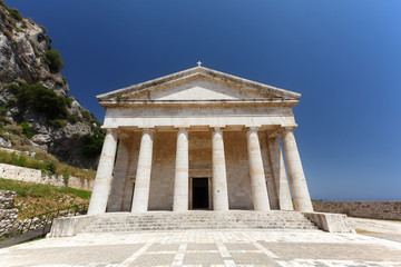 St. George church, Old Fortress, Corfu