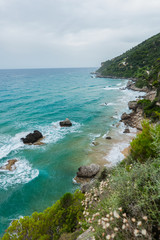 Myrtiotissa Beach, West Coast, Corfu, Ionian Islands, Greece