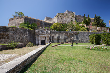 The New Fortress (Fortress of Saint Mark) in Corfu