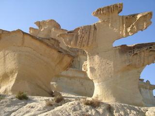 escultura de erosión