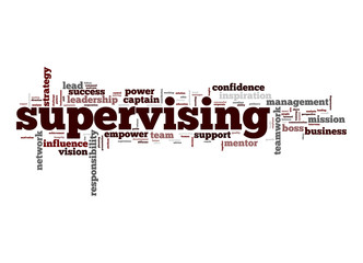 Supervising word cloud