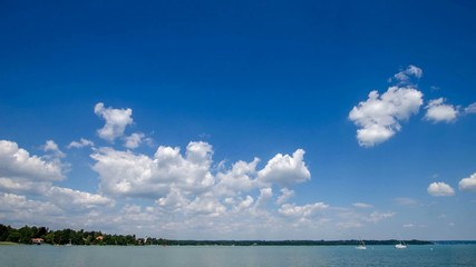 Timelap - Wolken am Starnberger See