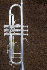 Detail take of a trumpet