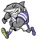 rugby shark mascot