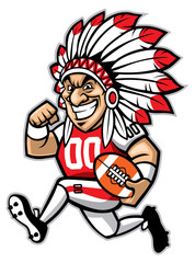 chief american football mascot