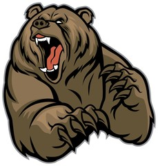grizzly gear mascot