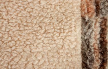 Fluffy fleece background