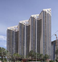 Highrise construction Sunny Isles Beach