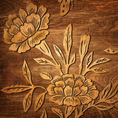 Oriental texture background