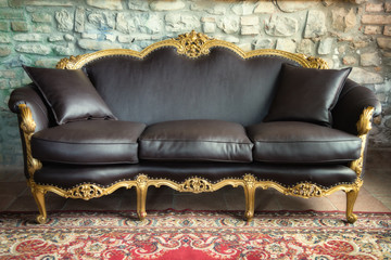 old style sofa