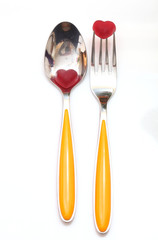 tableware. cutlery. spoon, fork