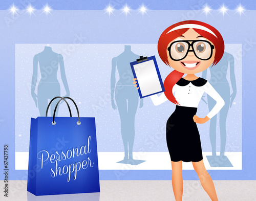 canvas print picture personal shopper