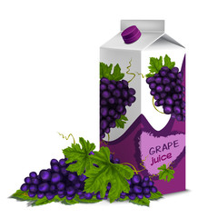 Juice pack grape