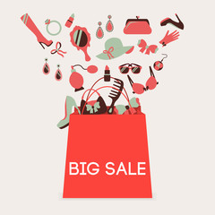 Shopping bag big sale