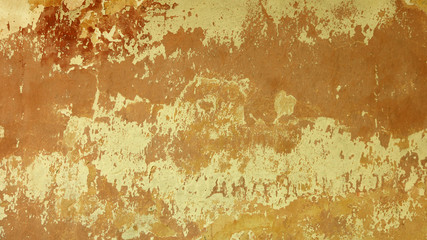 Wall old textured brown beige background
