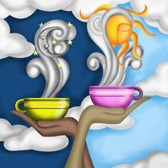 caffè e camomilla