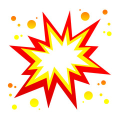 Vector burst icon