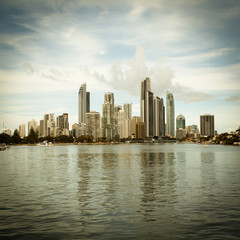 Australia's Gold Coast building