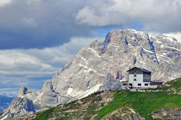House in Dolomites