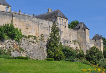 Chateau Ducal castle in Caen