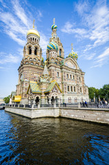 Church of the Spilled Bood, St Petersburg, Russia
