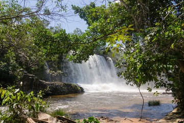 Waterfalls in Mato Grosso - Brasil