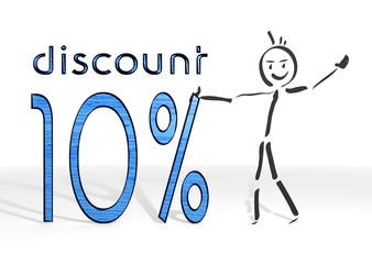 stick man presents discount