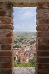 View of MArostica - Italy