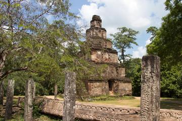 Sacred temple ruins, Polonnaruwa, Sri Lanka