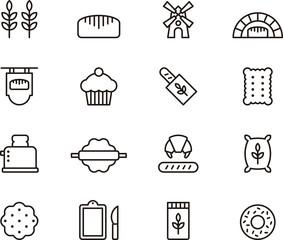Bread & Bakery icons