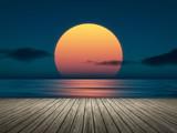 Fototapety big sunset