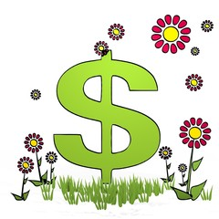 spring flower United States Dollar