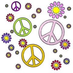 spring flower peace  collectrion