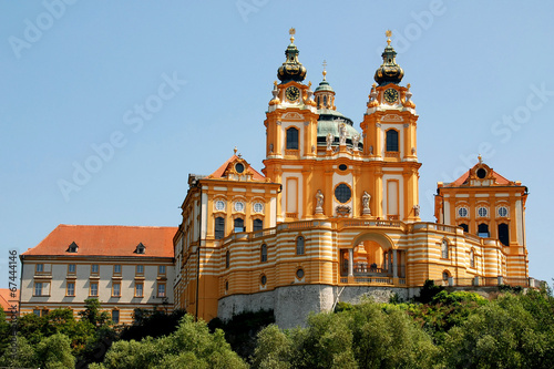 canvas print picture Stift Melk