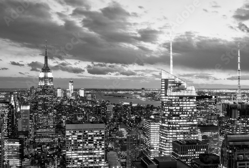 Aerial view of New York City Skyline - 67444706