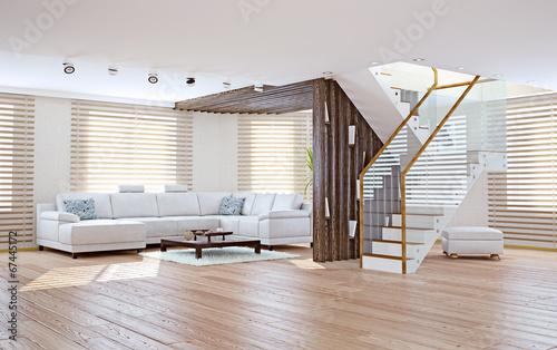 living room interior. 3d concept - 67445172