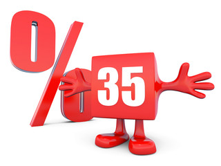 35 Percent off discount5