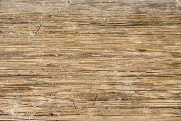 Worn Wooden Sandy Planks