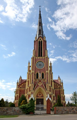 Gervyaty Holy Trinity Catholic church
